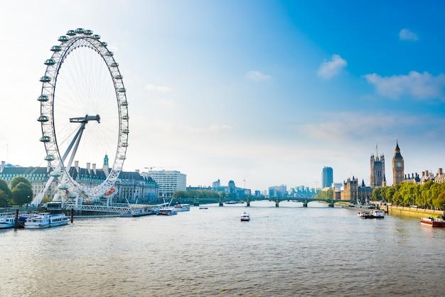 Прекрасный лондон сити, великобритания, Premium Фотографии