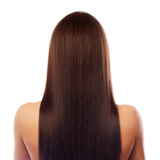Beautiful long hair Premium Photo