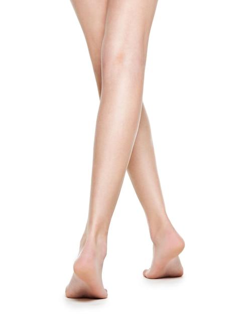 Belle gambe lunghe donne dopo la depilazione Foto Gratuite