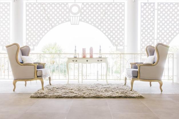 Beautiful luxury sofa Free Photo