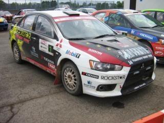 Beautiful Mitsubishi Rally Car Photo Free Download