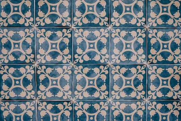 배경에 대한 아름다운 모로코 타일 벽 무료 사진