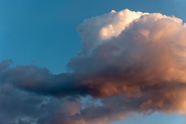 하늘에 아름다운 자연 구름 무료 사진