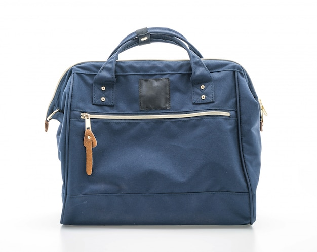 Beautiful navy bag Premium Photo