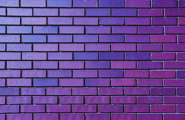 Beautiful purple brick wall for background Free Photo
