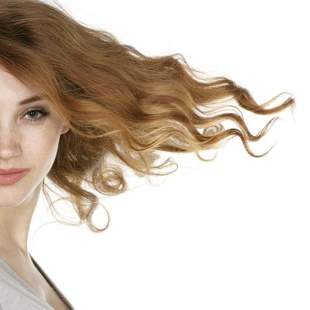 Beautiful redhead model Free Photo