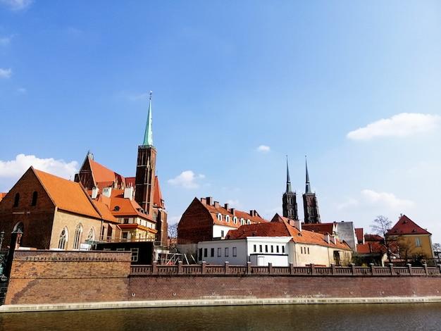 Beautiful shot of bastion ceglarski in wrocław, poland Free Photo