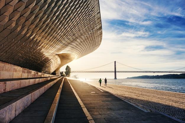 Красивый снимок маат, лиссабон, португалия Бесплатные Фотографии