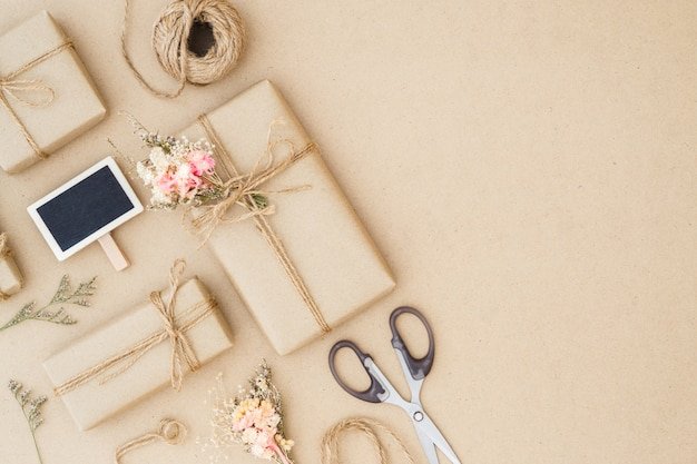 Beautiful Small Handmade Diy Gift Boxes Photo Premium Download