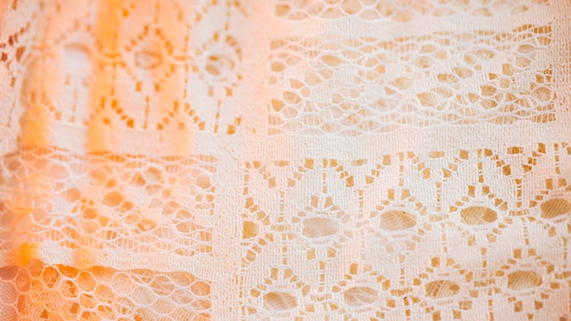 Beautiful textile material in fine mesh Free Photo