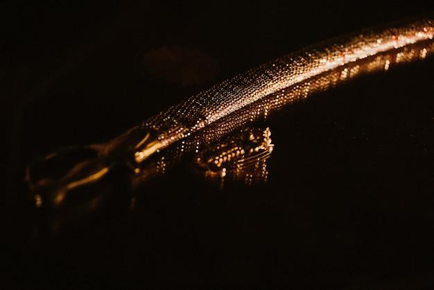 Красивая традиционная золотая индийская сабля Бесплатные Фотографии