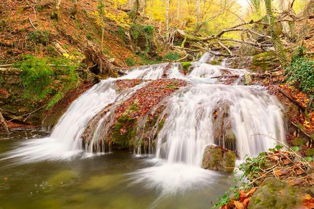 Beautiful view of great crimea nature. Premium Photo