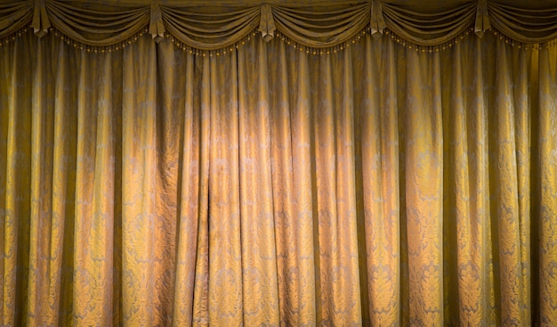 Beautiful vintage curtain background Free Photo