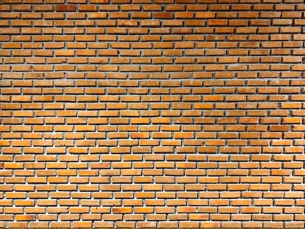 Beautiful wall. brown brick wall or textured in modern room. Premium Photo
