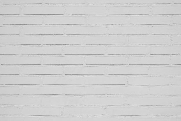 美しい白いレンガ壁の背景 無料写真