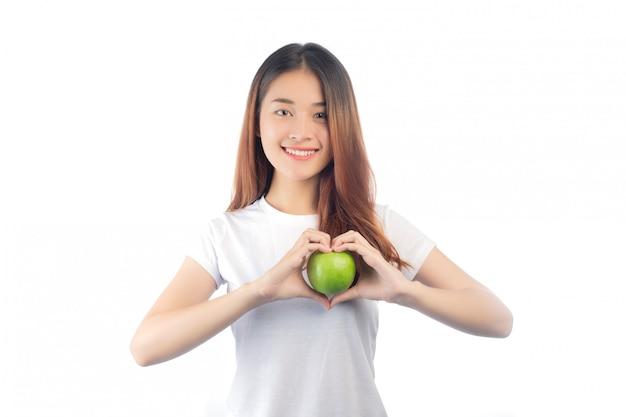 幸せな笑顔と美しい女性アジア 無料写真