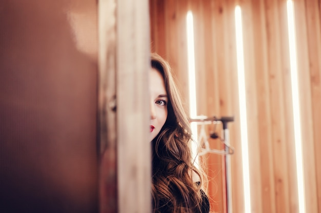Beautiful woman model Premium Photo