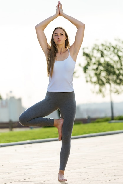 Teen yoga girls 12