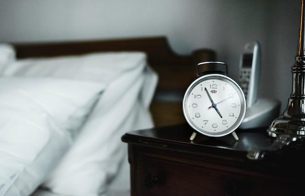 Bedroom Alarm Clock Photo Free Download