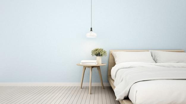 Bedroom in apartment or home Premium Photo