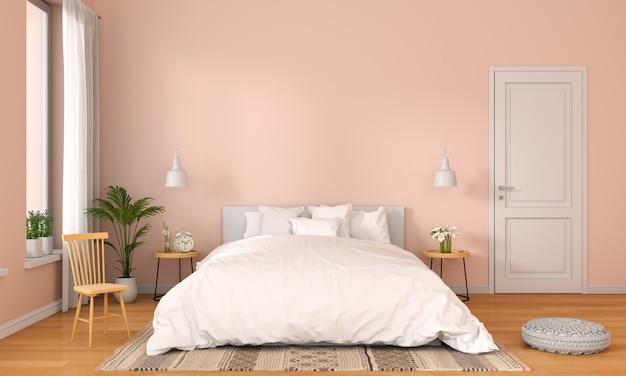 Bedroom interior Premium Photo