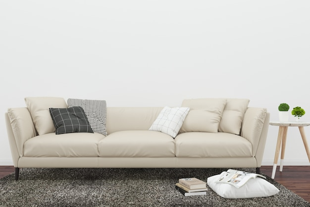 Fantastic Beige Sofa Dark Wood Floor Brown Rug And Pillow Background Home Interior And Landscaping Synyenasavecom