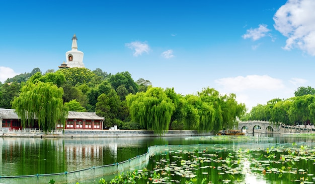 Beijing beihai park Premium Photo