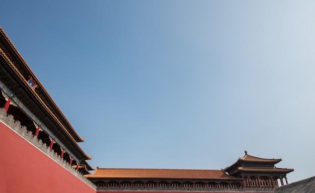 Beijing, china forbidden city Premium Photo