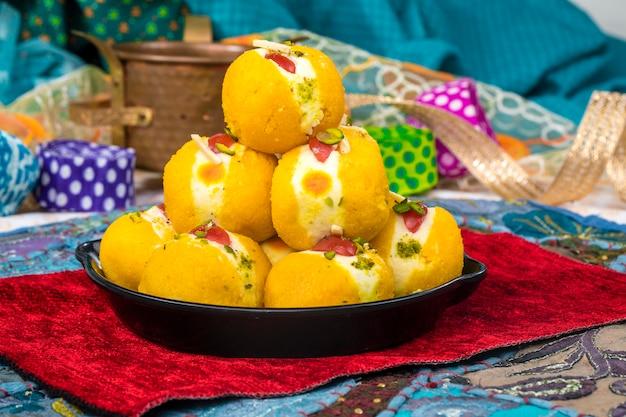 Bengali sweet food Premium Photo