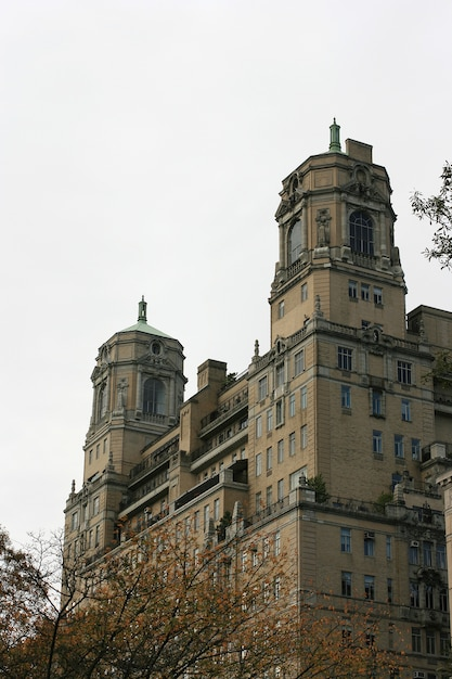 The beresford buildings tower top on central park west nyc Premium Photo