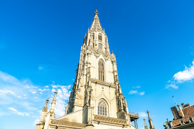 Berner munster cathedral in switzerland Premium Photo