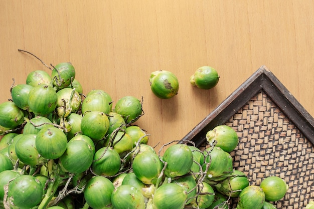 Betel nut for asian people. Premium Photo