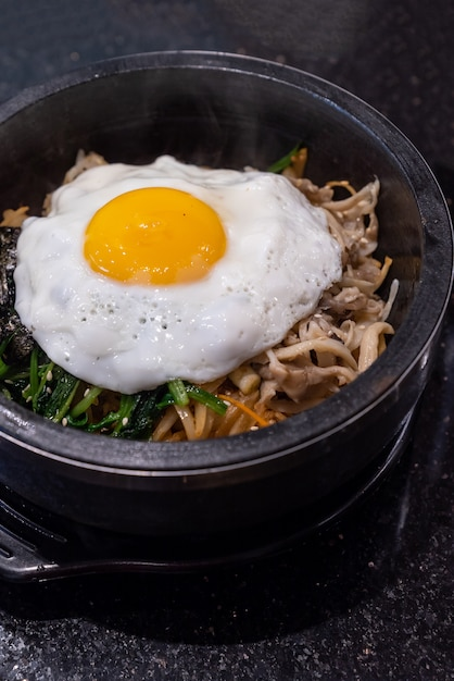Bibimbap Premium Photo