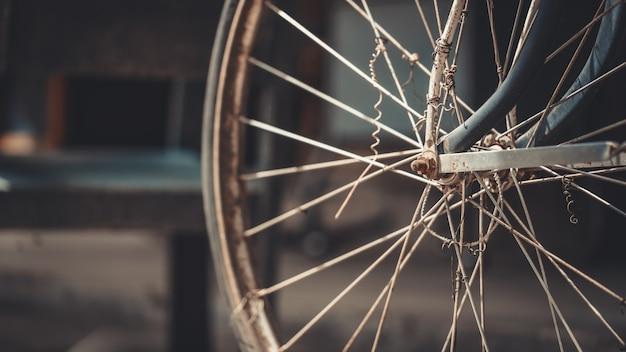 Bicycle wheel sprocket Premium Photo