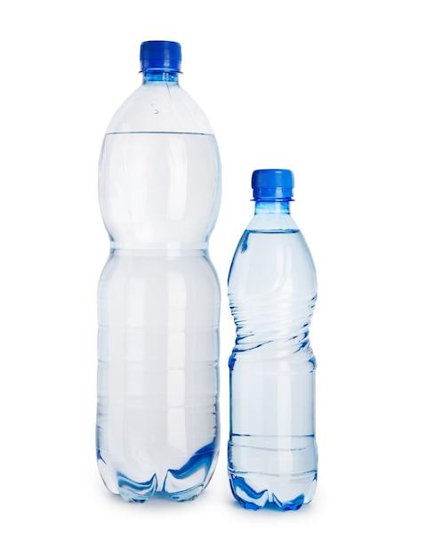 大小の青いボトル Premium写真