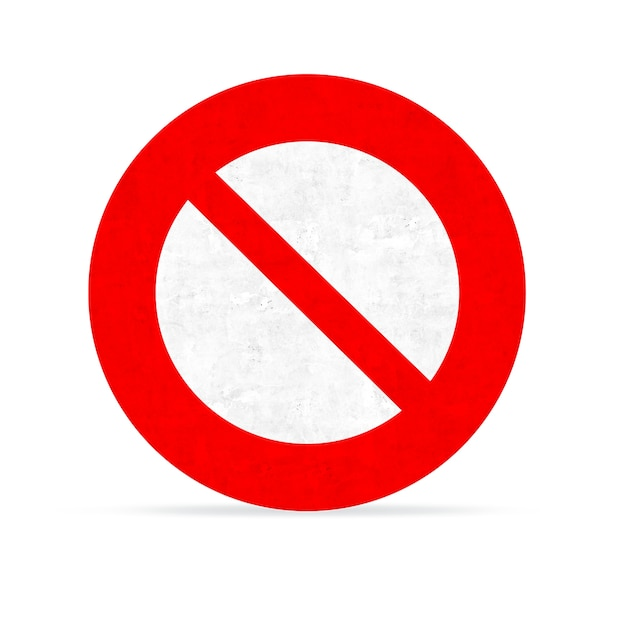 Big No Waiting Sign Photo Free Download