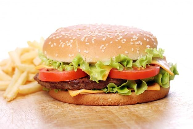 Big and tasty burger Free Photo