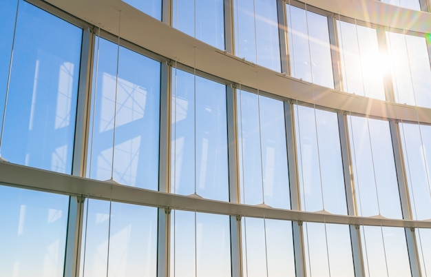 햇빛 큰 창 무료 사진