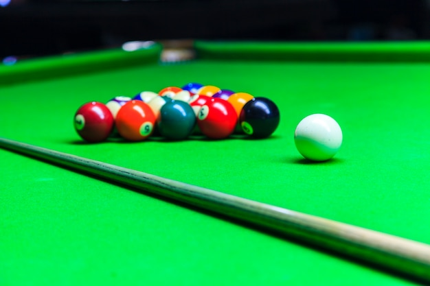 Billiard balls Premium Photo