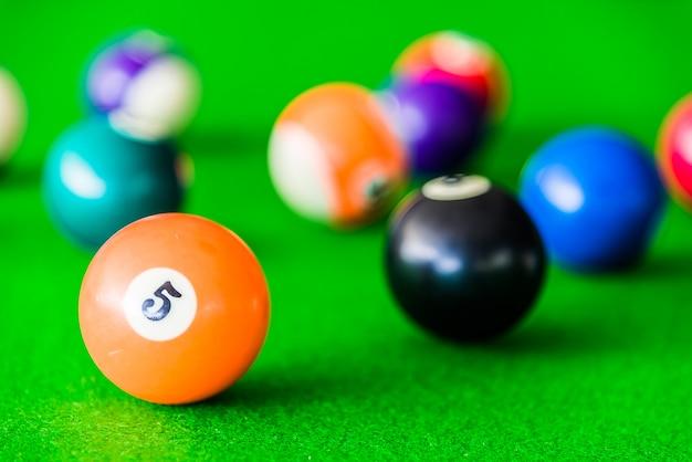 Billiards ball Free Photo