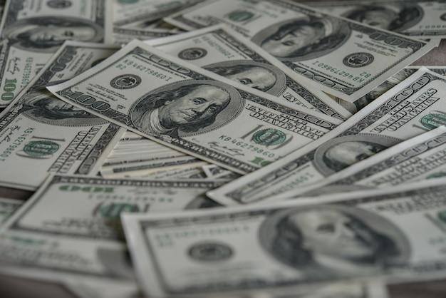 Billie dollar. money background Free Photo