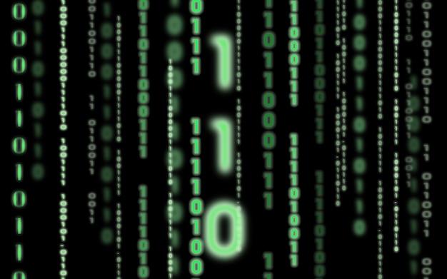 Binary code background Free Photo