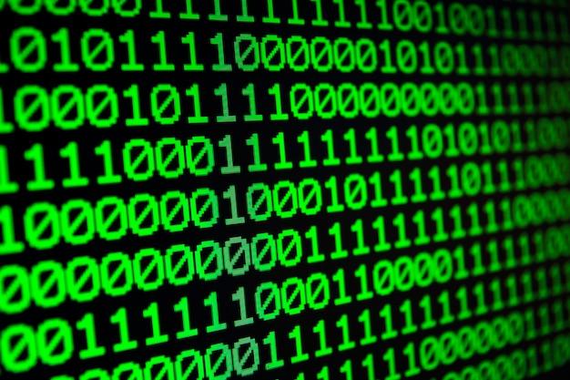 Binary matrix computer data code seamless background  binary