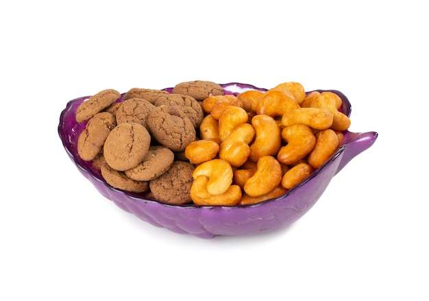 Biscuit sweet cookie Premium Photo