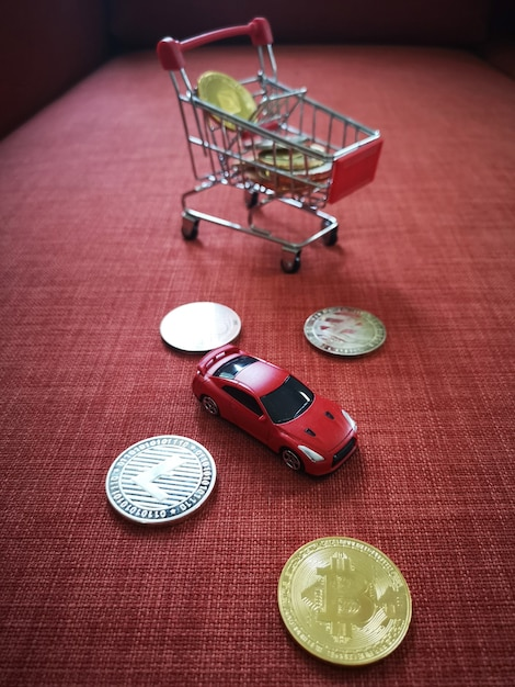 cryptocurrency shopping cart