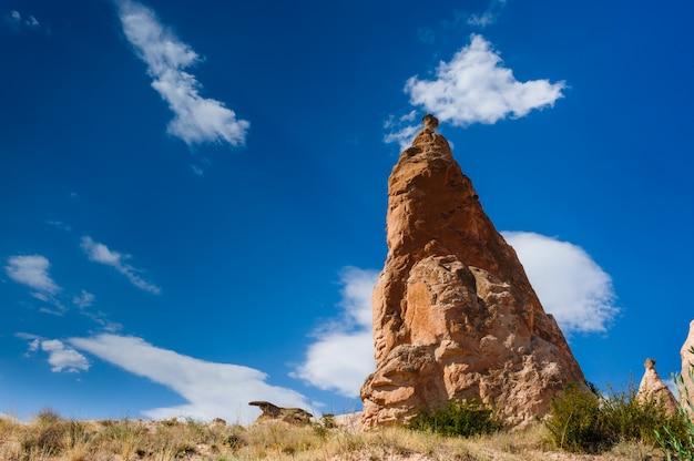 Bizzare rocks in cappadocia, turkey Premium Photo