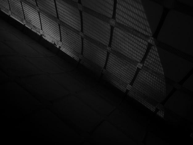 Черный абстрактный узор текстуры фона. Premium Фотографии