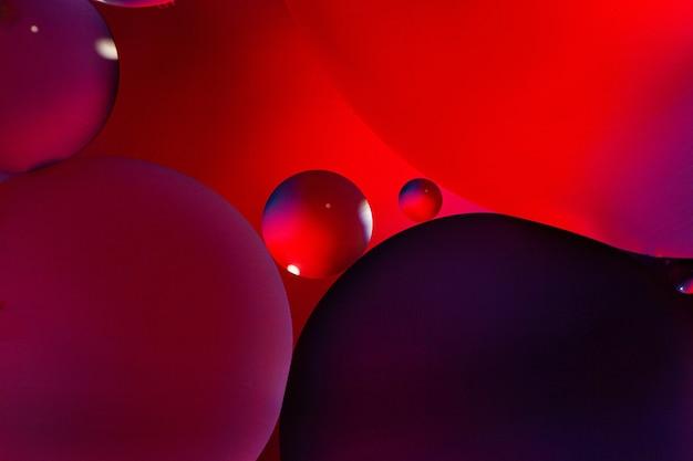 黒と紫の円の背景 無料写真