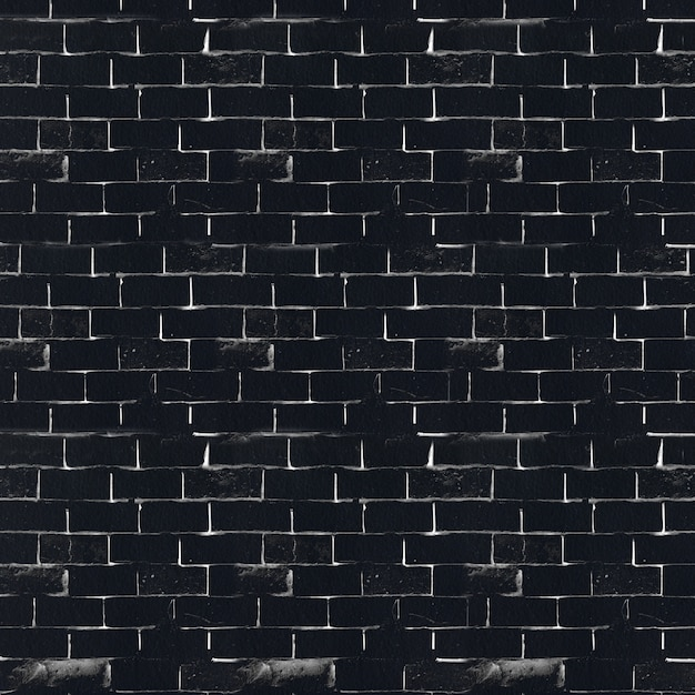 Black And White Brick Wall Photo Free Download