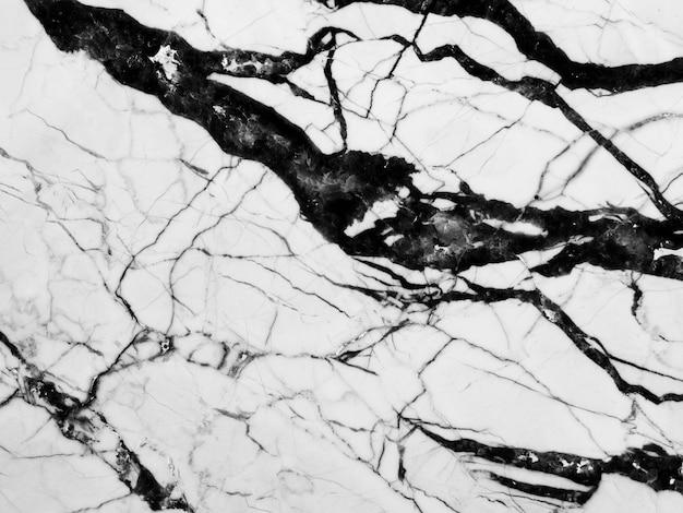 大理石の黒と白のテクスチャ背景 無料写真
